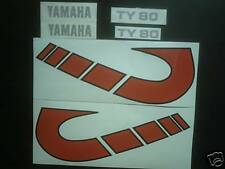 Yamaha TY 80 sticker kit-twinshock trials decals