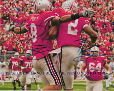 TERRELLE PRYOR AND DEVIER POSEY AUTOGRAPHED AUTO 8x10 RP PHOTO