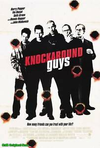 "MOVIE POSTER~Knockaround Guys 2001 27x40"" Original Film Sheet Diesel Pepper~One"