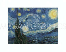 "VAN GOGH VINCENT - THE STARRY NIGHT - ART PRINT POSTER 16"" X 20""  (168)"