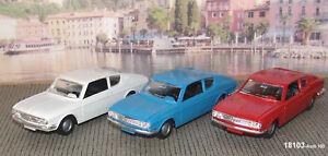 Märklin 18103-03 Audi 100 1:43 blau/weiss/rot-NEU OVP#