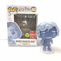 Funko POP!  Nearly Headless Nick Harry Potter SDCC Exclusive #62 W/ Protector