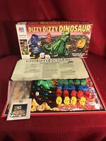 MB Games Dizzy Dizzy Dinosaur Vintage Board Game / Missing 1 Dice & 1 🟡 Piece