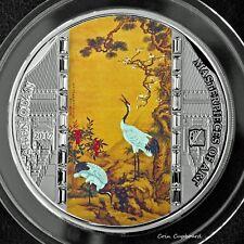"2017 Cook Islands  $20  Shen Quan  ""Masterpieces of Art""  3 oz PROOF Silver Coin"