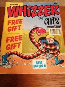 The Best Of Whizzer And Chips April 1993 Joker Fuss Pot Odd Ball Shiner