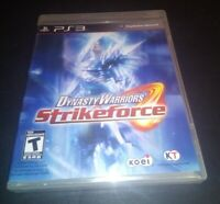 Dynasty Warriors: Strikeforce Sony PlayStation 3 (PS3) Factory Sealed New CIB