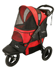 Gen7Pets G7 Pathfinder Red  Jogger Stroller for pets up to 75 lbs G2360PR