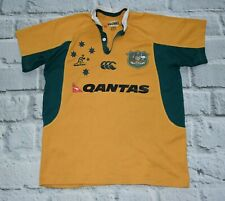 Canterbury Austaralia  wallabies rugby shirt  kit S small size men