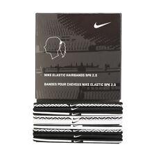 Nike 2017 Elastic 2.0 Hairband Sport Unisex 9 Pack Headband AC3996-101 Free Size