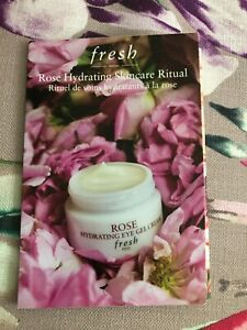 Fresh Rose Hydrating Skincare Ritual Sample Pack