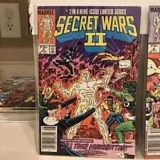 Secret Wars 2 Variuos Issues: 2, 6, 7, 8