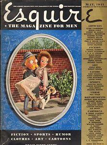 Esquire--Mayu 1941 - Scott Fitzgerald - Petty & Vargas gate-fold-----42