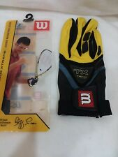 Wilson Triad Extreme Racquetball Gloves Mens Small Right Clff Swain Air Cooled