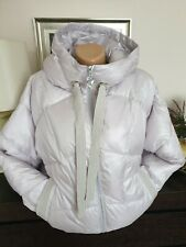 Ladies Pearl Colour Oversized Puff Winter Jacket Size 14/16
