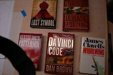 New listing 5 Books: Da Vinci Code, Lost Symbols, Conviction, Whirlwind, Fortunes Favorites