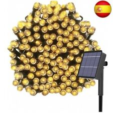 Kolpop Luces Exterior, Guirnalda Luces Exterior Solar, LED  (Blanco Cálido)
