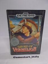 SWORD OF VERMILION (SEGA GENESIS) USATO COME DA FOTO - BOXED