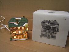 """Dept 56 Heritage Village Coll. """"E. Staubr Backer"""" Alpine Village Series w box"""