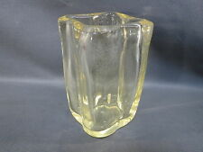 Vase en verre bullé signé Schneider France années 1930 design 20ème