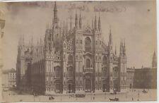 PHOTO PESENTI GENOVA ITALIA ITALIE / MILAN MILANO / 1894 LA CATHEDRALE