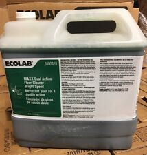 Ecolab 6100428 Maxx Dual Action Floor Cleaner Bright Speed 2.5 Gallon Jug