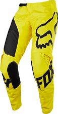 NEW 2018 Fox Racing MX Motocross Youth MASTAR Pants Yellow Size 28