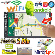 "7"" 2 DIN Android Car Radio GPS Navigation FM Audio Stereo Multimedia MP5 Player"