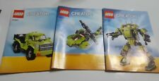 Lego Creator 31007 (manual only) 2013
