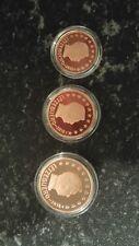 Luxemburg 1,2,5 Euro Cents PP/Proof 2018 - 1,000 Stück aus KMS !!! Brücke + Lowe