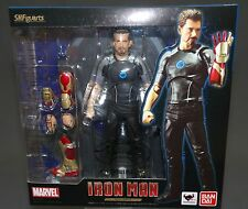 SH S.H. Figuarts Tony Stark Iron Man Bandai Japan NEW WITH STAND Japan NEW ***