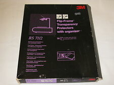 3M Flip-Frame A4 Transparency Protectors (30) with Organiser RS7112