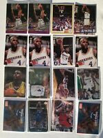 Chris Webber - Basketball Card Lot of 64  - Rookie Cards RC & Others - Beam Team