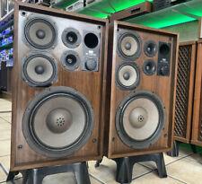 SANSUI SP-2500X Original Speaker Vintage 1979 3Way 100W RMS Refurbished Like New