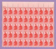 Scott#Fa1, 15C Stamp Certified Mail Sheet Of 50 Mnh Og Sheet Xf Bcv $32