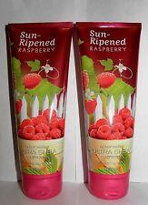 BBW Sun-Ripened Raspberry 24 Hour Moisture Ultra Shea Body Cream X2