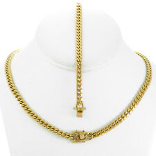 6mm Men's Miami Cuban Link Bracelet & Chain Set 18k Gold Plated Stainless Steel
