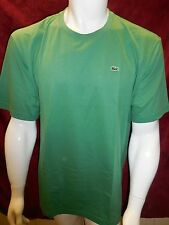 NWT Mens Lacoste Shirt Sz 3XL 9 Riziere 100% Cotton Side Crocodile French Design