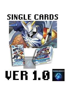 Digimon Card Game 2020 Special Booster Ver 1.0 Single Cards BT01-03 ENGLISH TCG