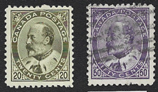 Canada Edward VII Scott # 94-95 Used