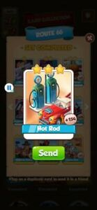 Coin Master Cards Hot Rod 10X