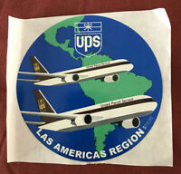 UPS UNITED PARCEL SERVICE Package Freighter Boeing 757 767 Sticker/Decal Airline
