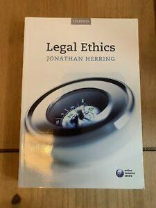 Legal Ethics by Jonathan Herring (Paperback, 2014)
