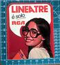 LINEA TRE E' SOLO RCA VINTAGE STICKER ADESIVO ORIGINAL