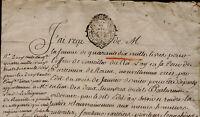 1641-1768 Office de Conseiller du Roi au Parlement Rouen Le SEIGNEUR de Reuville