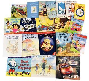Children's Kids Fiction Picture Story Book Bundle - 15 Various Books