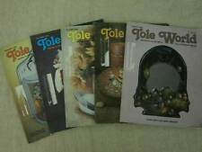 Tole World Magazine Tole Decorative Painting Instructions Patterns 5 Issues 1984