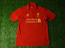 Liverpool England 2012/2013 Football Shirt Jersey Home Warrior Original Size M