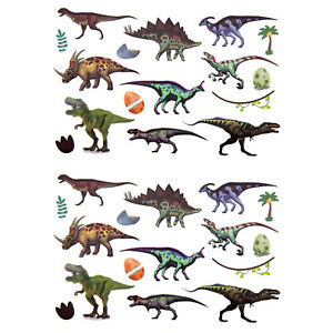 Kinder Dino Tattoos 32 Stk Temporär Dinosaurier Tattoo Spielen Spielspass Jungs