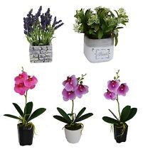 Deko Blumen Kunstliche Pflanzen Mit Ubertopf Fur Das Schlafzimmer