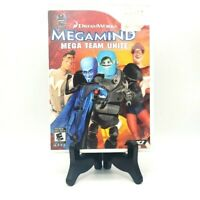 Dreamworks Megamind Nintendo Wii Complete Game Case Manual Mint Free Shipping